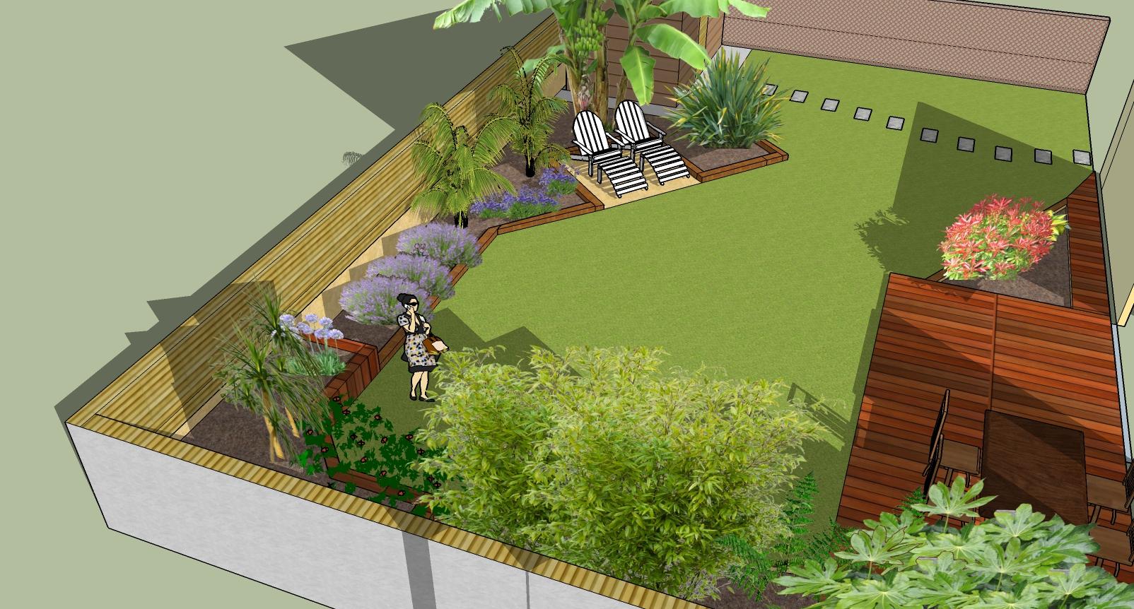 Nouveau back yard5 plan jardin 3d for Jardin 3d en ligne