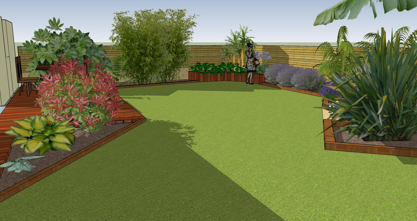 Construisons ensemble votre futur jardin plan jardin 3d for Jardin 3d mac